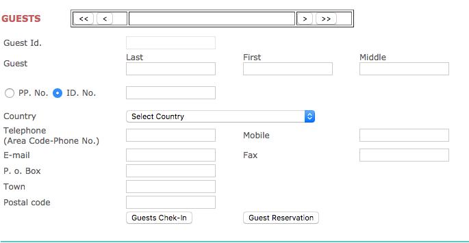 PHP Mysql Hotel Management System Opensource - PRP Webs